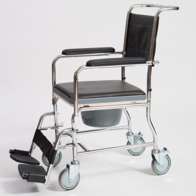 Кресло-коляска механическое с санитарным оснащением CCW01