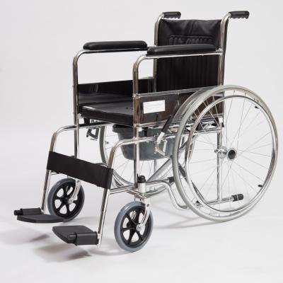 Кресло-коляска механическое с санитарным оснащением CCW15